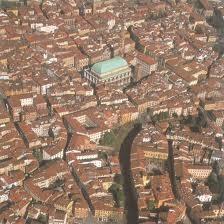Vicenza veduta aerea
