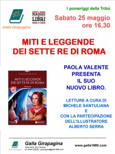 MITI E LEGGENDE DEI SETTE RE DI ROMA @ Libreria Girapagina | Vicenza | Veneto | Italia