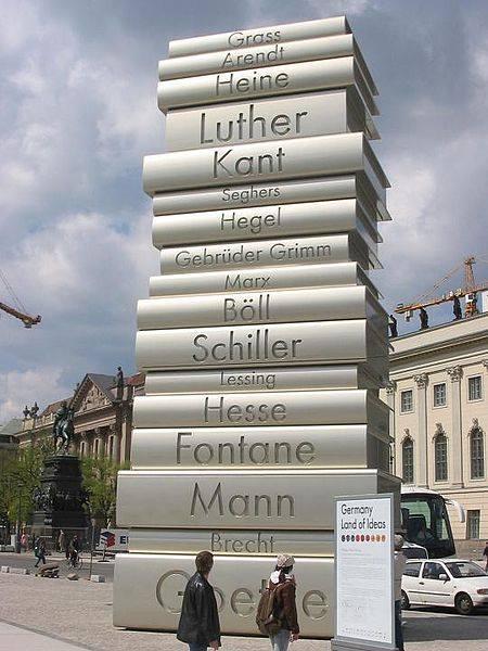 berlino omaggio a gutenberg il cammino delle idee
